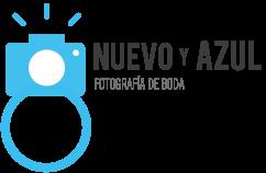 Logo Nuevo y Azul fotografía de boda